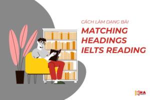 Cách làm dạng Matching Heading IELTS hiệu quả