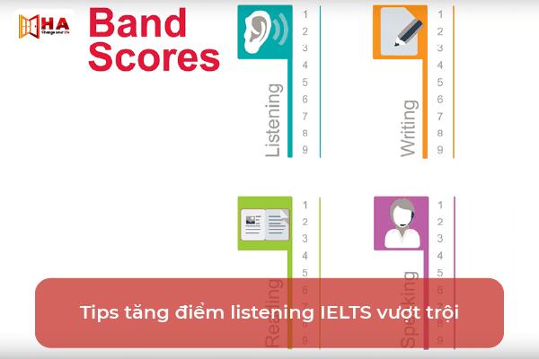 Cách tăng band listening hiệu quả