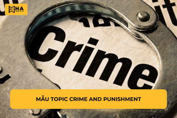 Ví dụ topic crime and punishment
