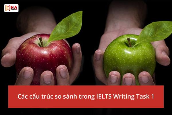 Các cấu trúc so sánh trong IELTS Writing Task 1